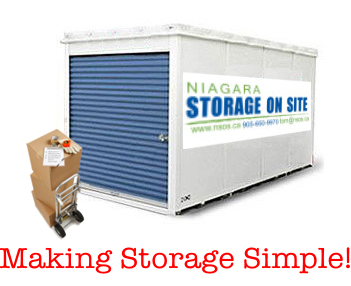 moving Storage Niagara St Catharines mini storage Portable